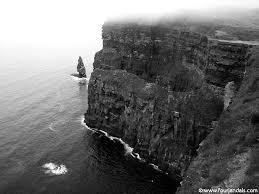 On the edge!