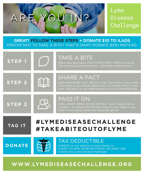 Havoc! And #LymeDiseaseChallenge!
