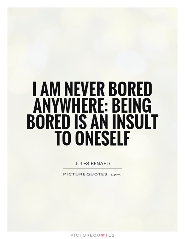 Is Boredom a State ofMind?